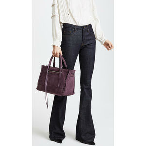 💕Rebecca Minkoff💕 Purple Regan Satchel Tote